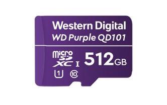 Western Digital WD Purple SC QD101 memoria flash 512 GB MicroSDXC Clase 10