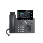 Grandstream Networks GRP2616 IP phone Black Wired handset TFT 6 lines Wi-Fi