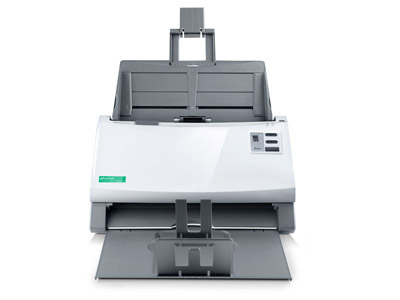Plustek SmartOffice PS3140U 600 x 600 DPI ADF scanner Grey, White A4