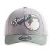 Pokémon Snolax Snooze Adjustable Cap, Unisex, Grey/Green (BA511738POK)