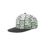 Nintendo Gameboy All-over Print Snapback Baseball Cap, One Size, Multi-colour (SB081204NTN)