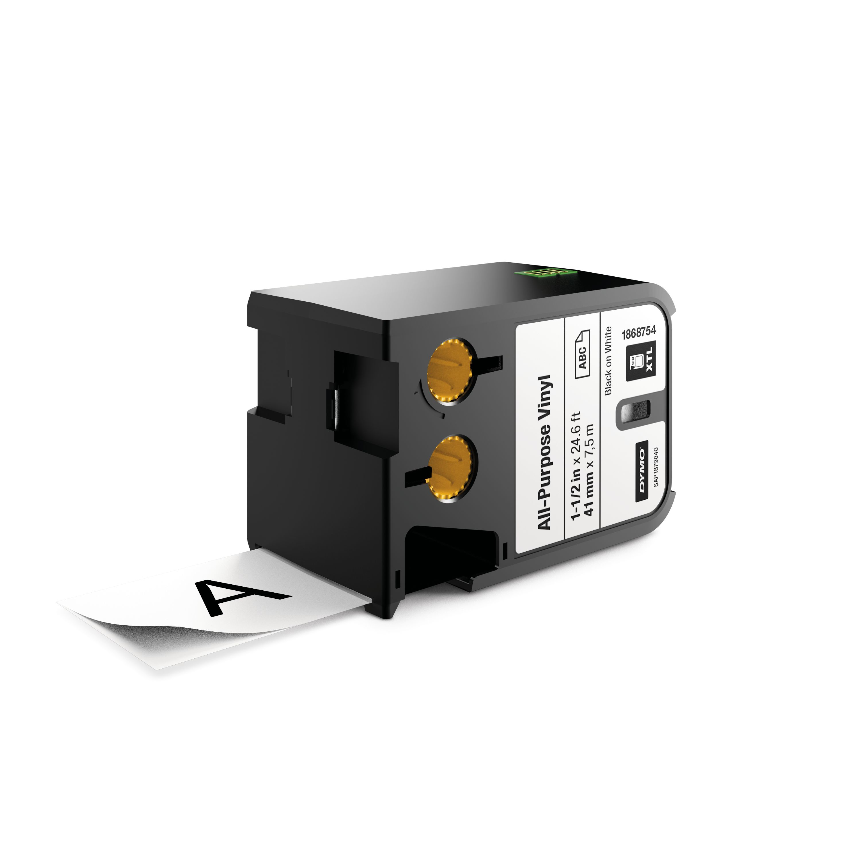 DYMO 1868754 Black on white label-making tape