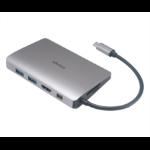 Akasa AK-CBCA16-18BK interface hub USB 3.0 (3.1 Gen 1) Type-C 5000 Mbit/s Aluminium,Black