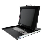"StarTech.com DuraView 17"" LCD rack console 17"" 1280 x 1024 pixels"