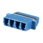 Cablenet LC Quad SM Coupler Blue