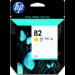 HP Cartucho de tinta DesignJet 82 amarillo de 69 ml