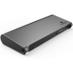 4XEM 4XUTD03H notebook dock/port replicator Wired Thunderbolt 3 Black, Gray