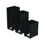 Eaton Rack RA Series 42Ux600Wx1200D Perf with sides 42U Freestanding rack Black
