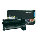 Lexmark C7720YX Toner yellow, 15K pages @ 5% coverage