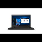 """Lenovo ThinkPad T15g Notebook 15.6"""" 3840 x 2160 pixels Intel® Xeon® 32 GB DDR4-SDRAM 1000 GB SSD NVIDIA GeForce RTX 2070 Super Max-Q Wi-Fi 6 (802.11ax) Windows 10 Pro for Workstations Black"""
