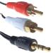 Group Gear 5m 3.5mm/2xRCA 5m 3.5mm 2 x RCA Multicolour audio cable