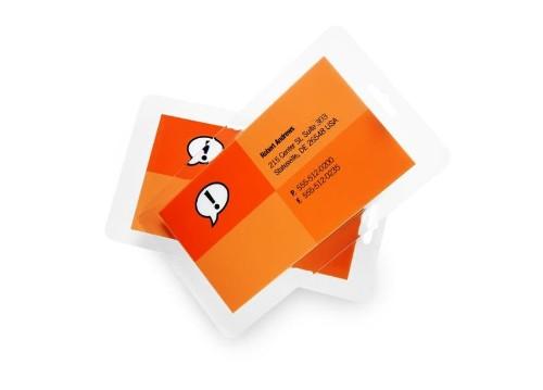 GBC Card Laminating Pouches 64x108mm 2x125 Micron Gloss (100)