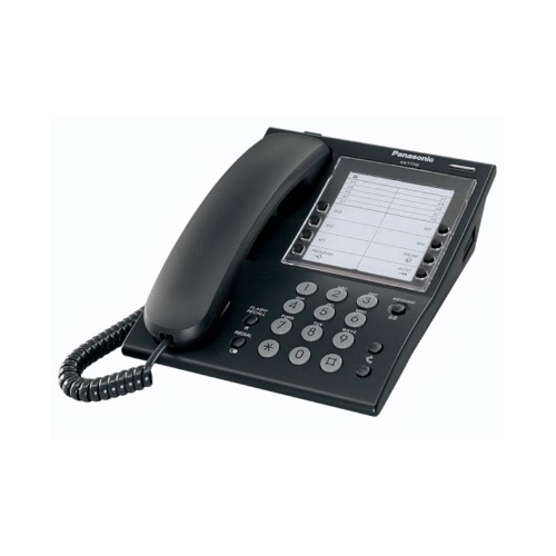 Panasonic KX-T7710E Analog telephone Black