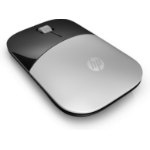 HP Z3700 mice RF Wireless Optical 1200 DPI Ambidextrous Silver