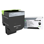 Lexmark 71B0X10 Toner black, 8K pages