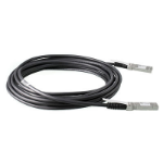 Hewlett Packard Enterprise X244 5m Black signal cable
