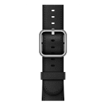 Apple 42mm Black Classic Buckle