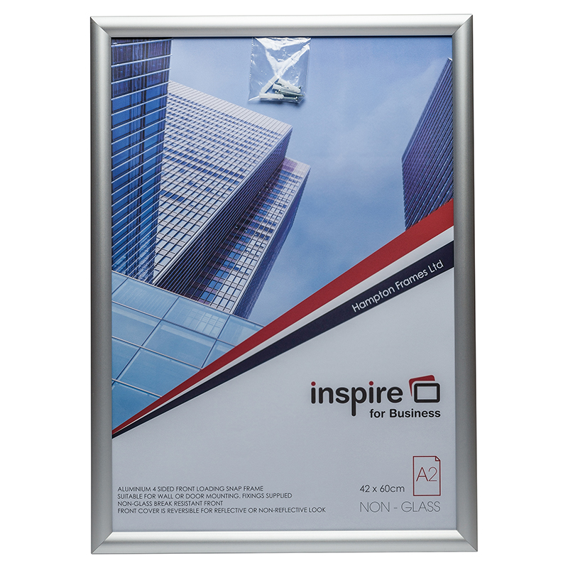 Photo Album Inspire for Business A2 Aluminium Snap Frame