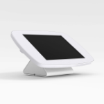 Bouncepad Flip | Samsung Galaxy Tab 4 10.1 (2014) | White | Exposed Front Camera and Home Button |