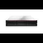 Lenovo Storage V3700 V2 disk array Rack (2U) Black, Silver