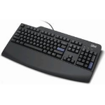 Lenovo Preferred Pro Full-size Keyboard BE PS2 Black PS/2 AZERTY Black keyboard
