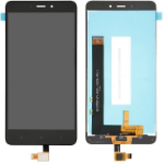 MicroSpareparts Mobile MOBX-XMI-RDMINOTE4-LCD-B Display Black