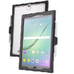 "Gumdrop Cases DTC-SGTS3-BLK_SMK tablet case 24.6 cm (9.7"") Cover Black, Transparent"