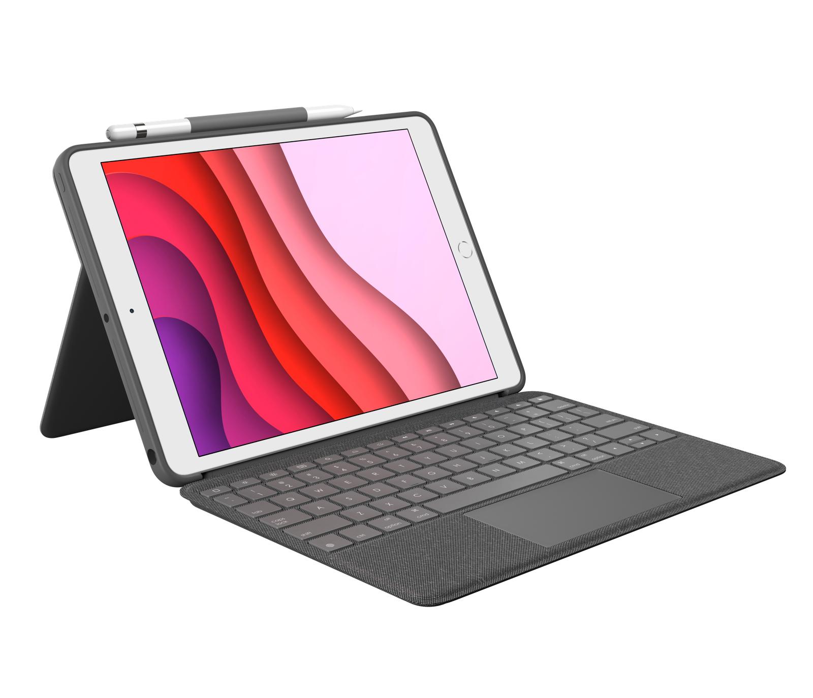 Logitech Combo Touch teclado para móvil QWERTY Nórdico Grafito Smart Connector