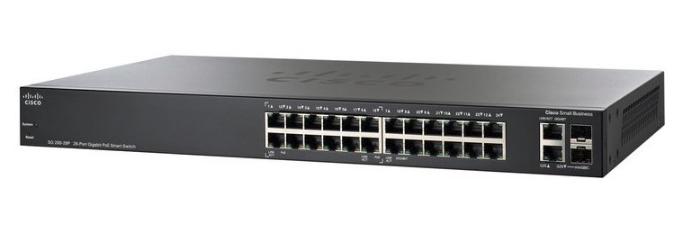 Cisco SG250-26HP-K9 Managed L2 Gigabit Ethernet (10/100/1000) Power over Ethernet (PoE) Black