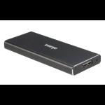 "Akasa AK-ENU3M2-BK SSD enclosure M.2"" Black storage drive enclosure"