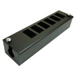 Cablenet 6 Way POD Box Horizontal Row LJ6C 56mm Deep 32mm Entry