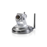 LevelOne PT Network Camera, 5-Megapixel, 150Mbps 802.11b/g/n, Day & Night, IR LEDs