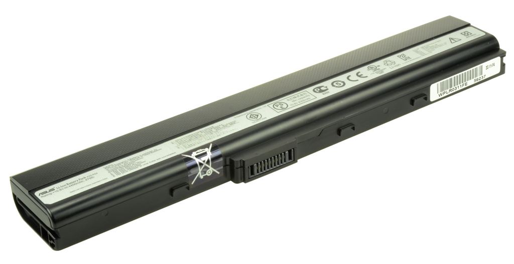 2-Power 11.1v, 6 cell, 57Wh Laptop Battery - replaces A31-B53