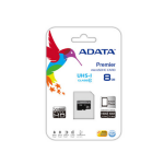 ADATA Premier microSDHC UHS-I U1 Class10 8GB 8GB MicroSDHC Class 10 memory card