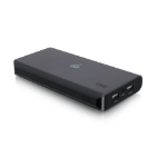 iogear GearPower 16000mAh power bank Black Lithium-Ion (Li-Ion)