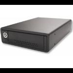 "CRU DP25 HDD/SSD enclosure 2.5"" Black"