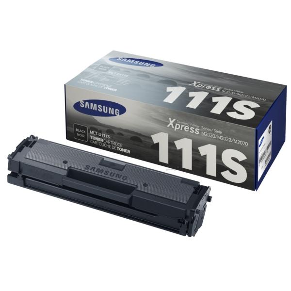 Samsung MLT-D111S/ELS (111S) Toner black, 1000 pages @ 5% coverage