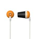 Koss PLUG O Orange Intraaural In-ear headphone