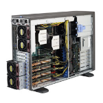Supermicro SuperServer 7048GR-TR Intel C612 Socket R (LGA 2011) 4U Black
