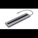 iogear Dock Pro 100 Wired USB 3.2 Gen 1 (3.1 Gen 1) Type-C Silver