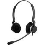 Jabra BIZ 2300 QD Duo Binaural Head-band Black,Silver headset