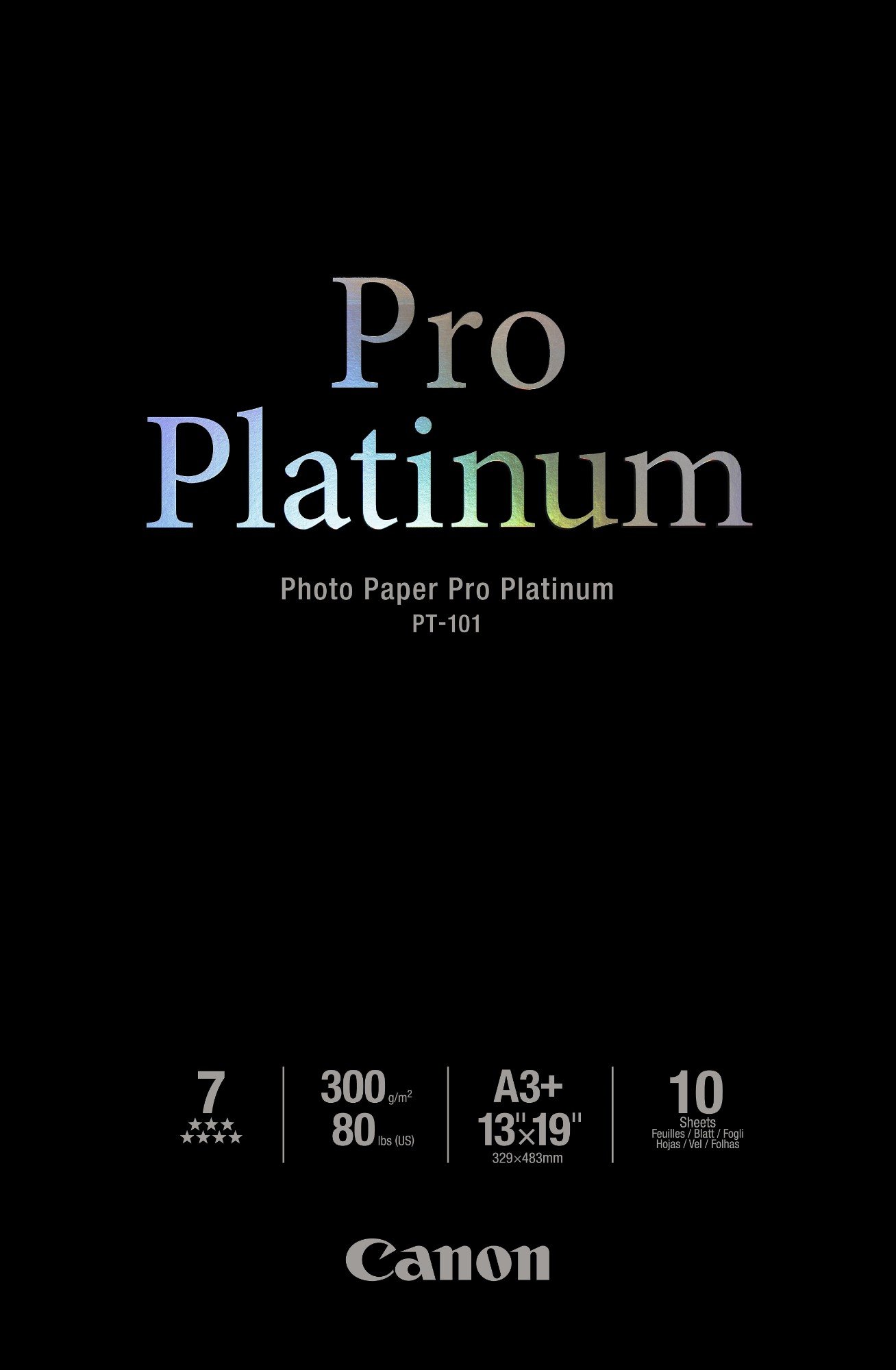 Canon PT-101 papel fotográfico A3+