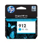 HP 912 Original Cian 1 pieza(s)