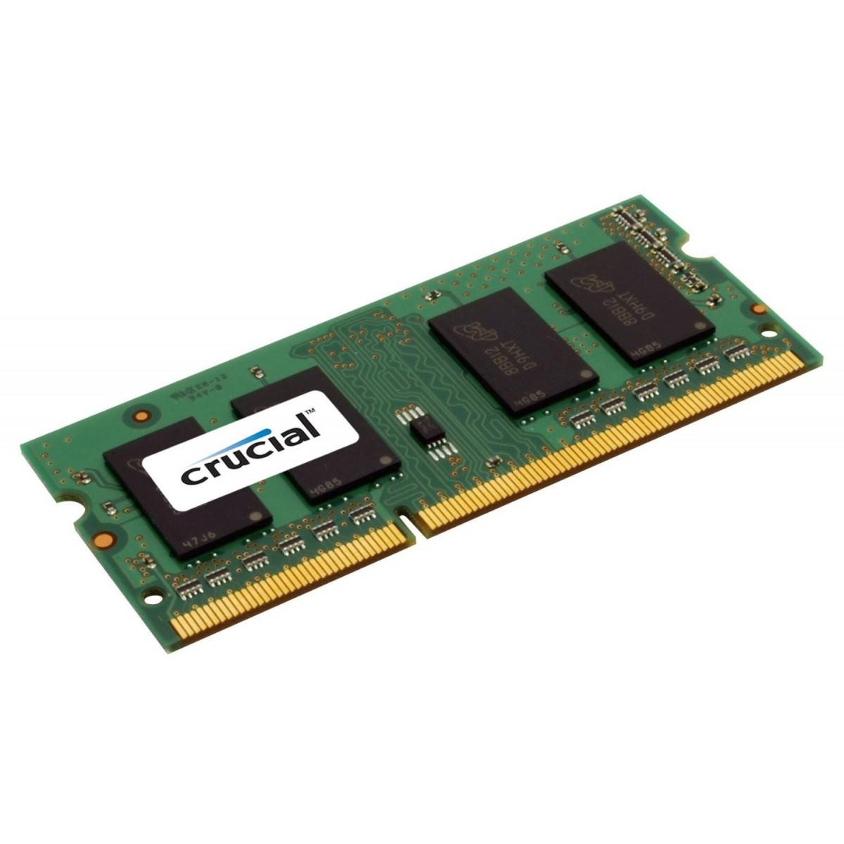Crucial 8GB DDR3 SODIMM 8GB DDR3 1600MHz memory module