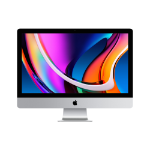 "Apple iMac 68.6 cm (27"") 5120 x 2880 pixels 10th gen Intel® Core™ i5 16 GB DDR4-SDRAM 1000 GB SSD AMD Radeon Pro 5300 macOS Catalina 10.15 Wi-Fi 5 (802.11ac) All-in-One PC Silver"