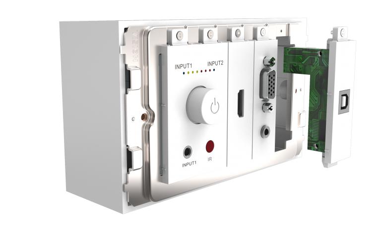 Vision TC3-PK+PK3MCABLES outlet box