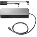HP USB-C Universal Dock with 4.5 mm and USB Dock Adapter Wired USB 3.2 Gen 1 (3.1 Gen 1) Type-C Black