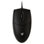 V7 Optical LED USB Mouse - black
