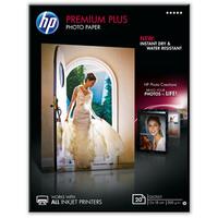 HP Premium Plus Glossy Photo Paper-20 sht/13 x 18 cm