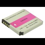 2-Power Digital Camera Battery 3.6v 800mAh
